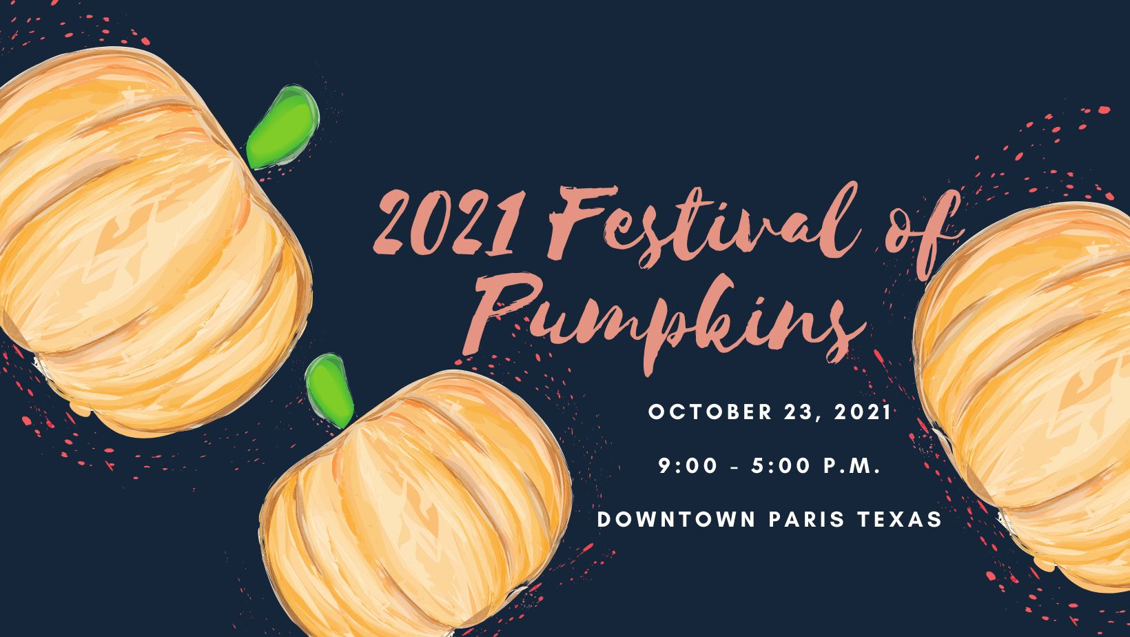 20th annual Festival of Pumpkins